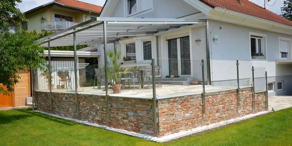 Wintergarten- Sonnenschutz - Minimal Fenster - Metallbau Graz
