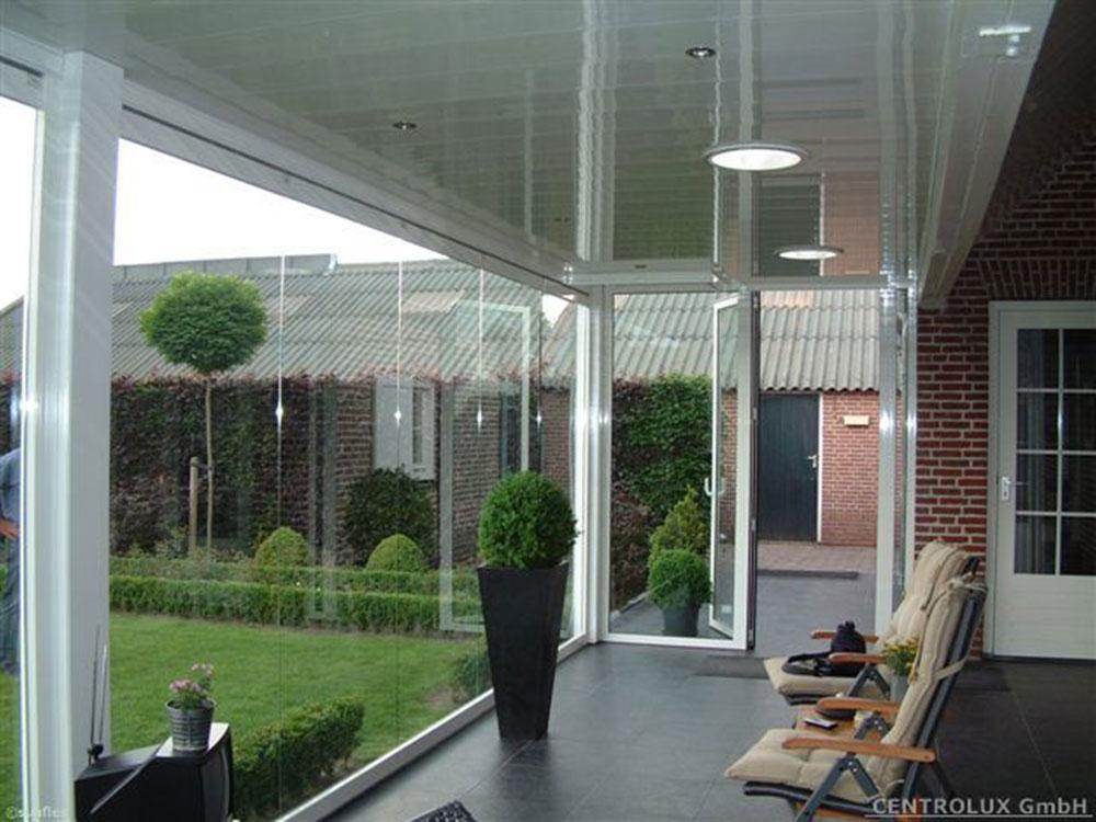 Wintergarten Berdachungen Sonnenschutz Glas